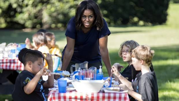 Getting kids to eat healthier was one of Michelle Obama's top priorities.