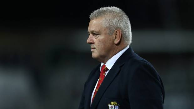 """Warren Gatland says tacklers diving at the knees of halfback Conor Murray could """"wreck his career""""."""