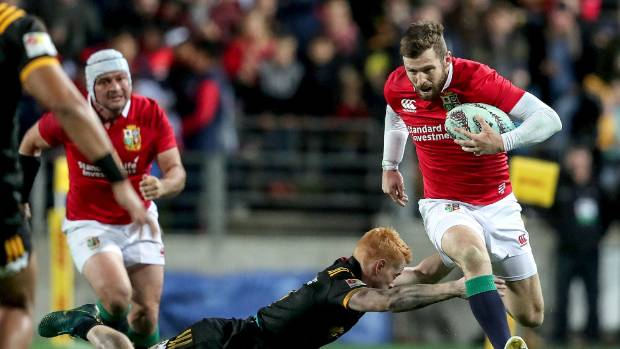 Lions wing Elliot Daly was excellent with limited chances.