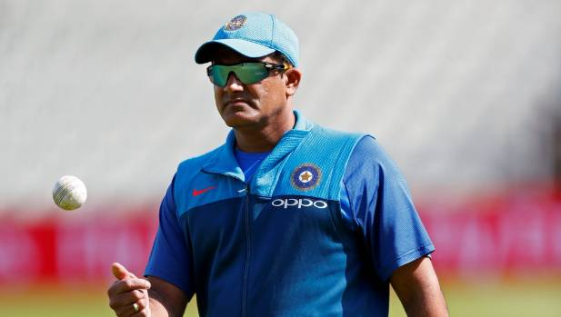 India coach Anil Kumble has stepped down from the role.