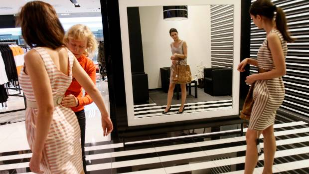 The ritual humiliation of the department store changing room could be a thing of the past if Amazon's scheme takes off.