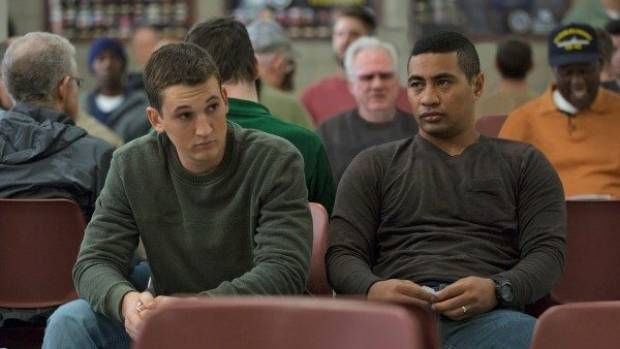 Beulah Koale stars opposite Miles Teller in the new film Thank You For Your Service.