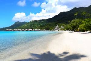 Three of the world's most expensive beaches are found in French Polynesia.