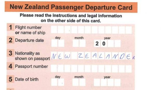 Airport departure cards for kiwi travellers may go stuff new zealands tiresome international departure cards may soon be a thing of the past for travellers reheart Choice Image