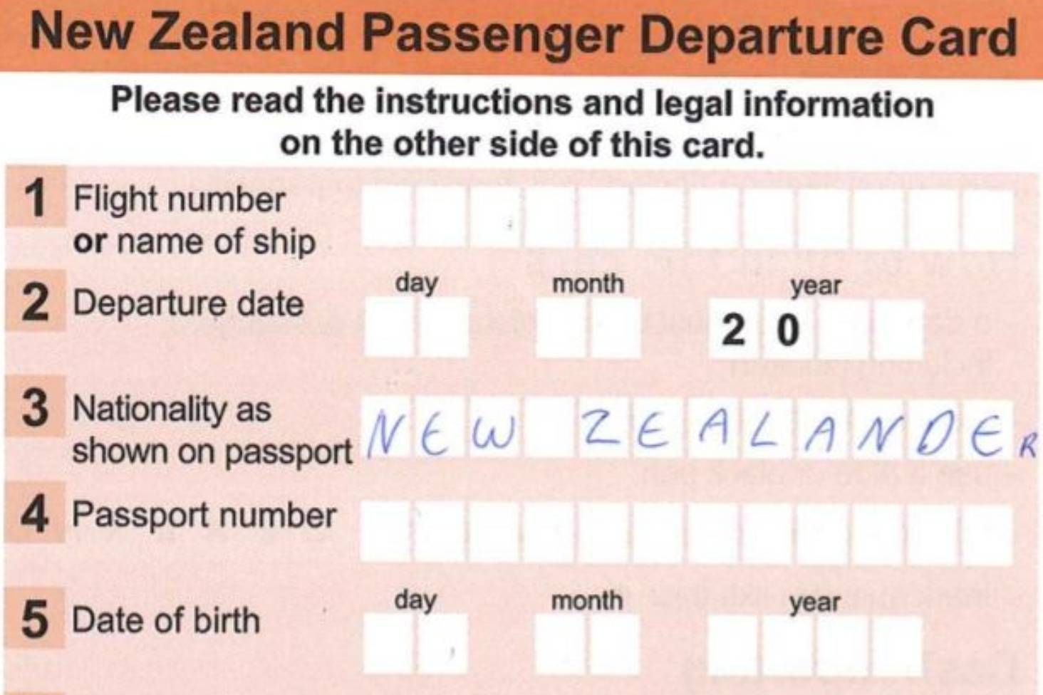 Airport Departure Cards Will Be Off The Table Come November Stuff