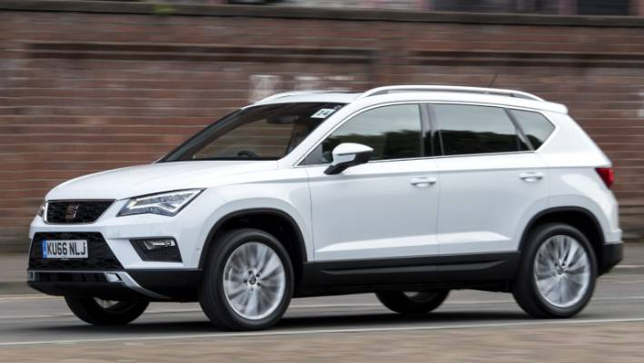 Seat Ateca SUV Is Based On Same Platform As VW Tiguan Its Shorter And Sportier