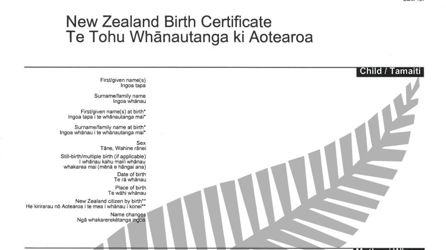 Official All Blacks New Zealand birth certificates launched | Stuff