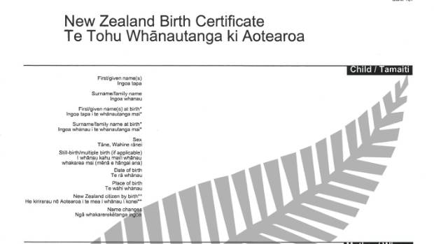 Official All Blacks New Zealand Birth Certificates Launched  Stuff