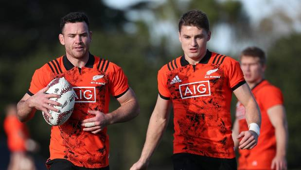 Ryan Crotty joins Beauden Barrett in the All Blacks' run-on side to face the Lions on Saturday.