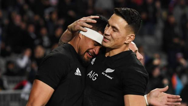 Sonny Bill Williams gets the start at second five-eighth for the All Blacks against the Lions.