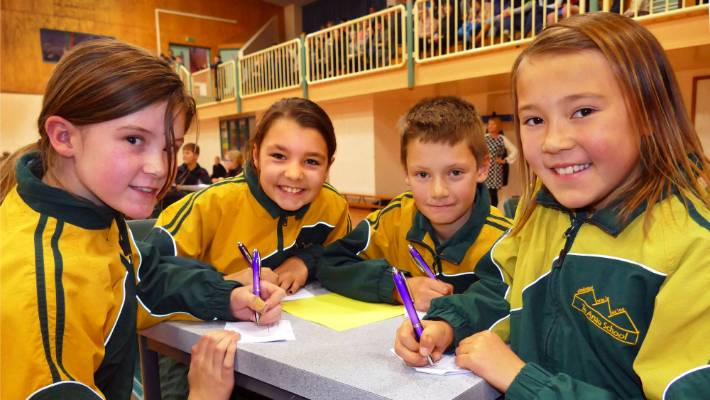 Spelling bee competition has students buzzing   Stuff co nz