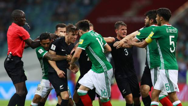 Federation Internationale de Football Association takes no further action on Mexico-New Zealand clashes