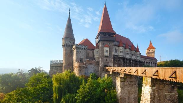 Transylvania - known for its gothic castles, gorgeous countryside... and of course, Dracula.