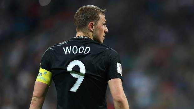 Alll Whites captain Chris Wood.