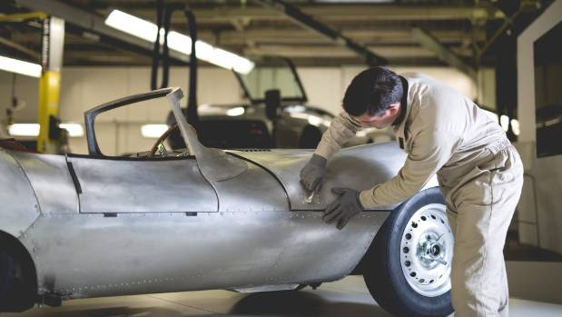 Built entirely by hand, just as the 1957 models were.