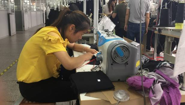 Making Cotton On shirts at Wuxi Everbright factory, Wuxi. New Zealand is Cotton On's fourth biggest region in terms of ...