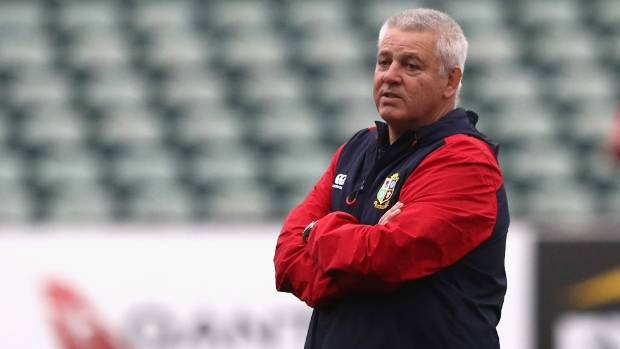 Lions coach Warren Gatland may need to majorly mix things up to snag a win in the second test.