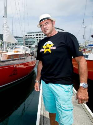 Roger Foley, left, confirmed Havana Coffee's Geoff Marsland, right, was on the yacht.