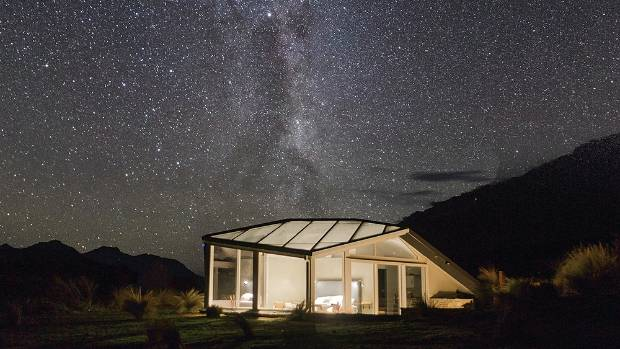 Star Gazing Through A Glass Ceiling In The Mackenzie Country Stuff Co Nz