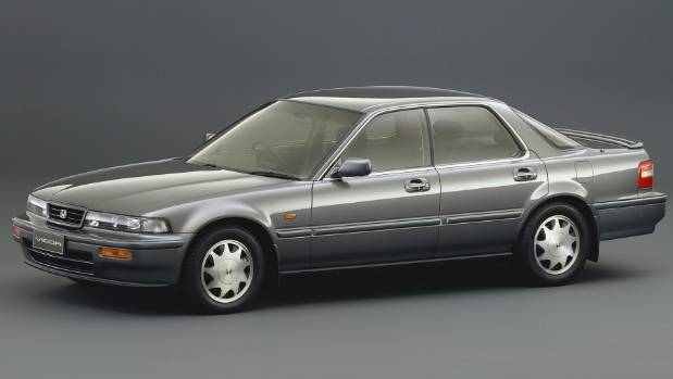 Honda Vigor didn't actually have much. You know, vigour. But it did have a five-cylinder engine.