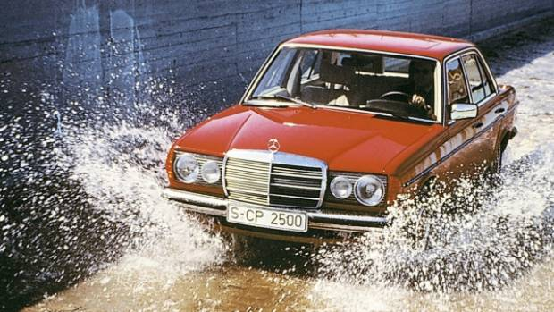 W123 five cemented Mercedes-Benz's indestructible reputation. Did not contain actual cement.