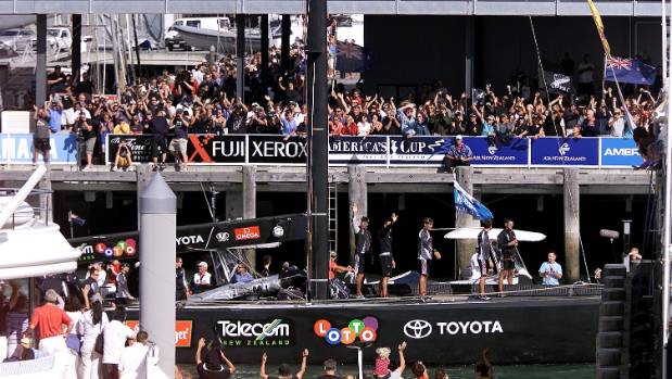 The 2003 America's Cup was worth $529m and helped open a new door to Auckland.