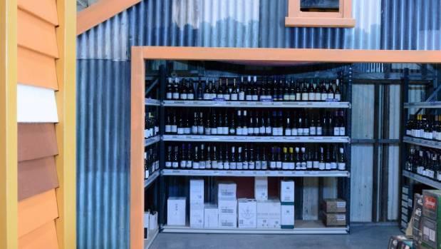 Moore Wilson's Porirua bottle shop gets in ship-shape.