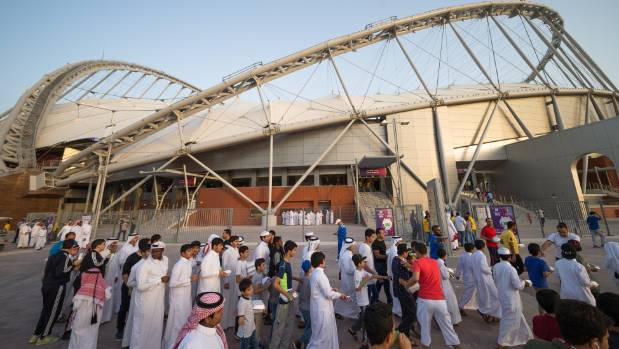 Qatar is hosting the 2022 Fifa World Cup.