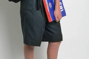 A school says kids can stay warm over winter without trousers. (File photo)