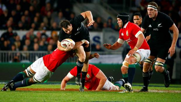 All Blacks beat Lions to take one-nil series lead