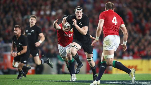 Lock Brodie Retallick was a colossus for the All Blacks against the Lions.