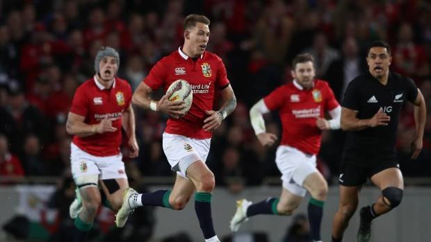 Fullback Liam Williams sparked the Lions with a brilliant counter-attack.