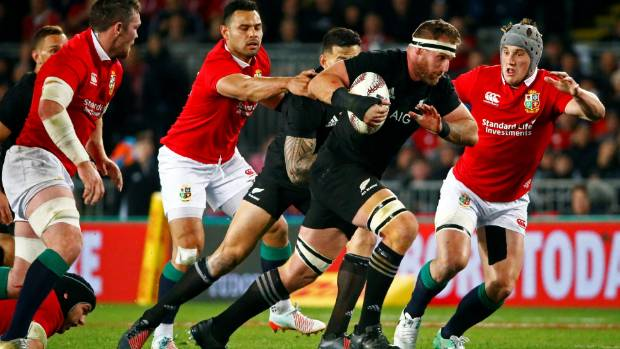 British rugby fan crashes on New Zealand All Blacks' couch