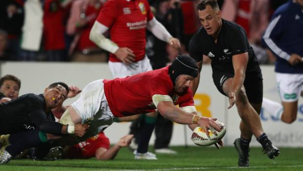 Ioane try double as All Blacks maul Lions