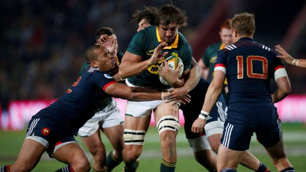Springboks batter France 35-12 for series clean-sweep