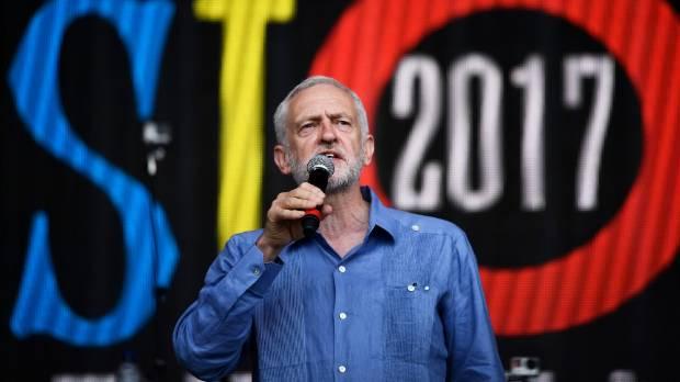 Jeremy Corbyn Tells Michael Eavis He'll Be Prime Minister 'In Six Months'