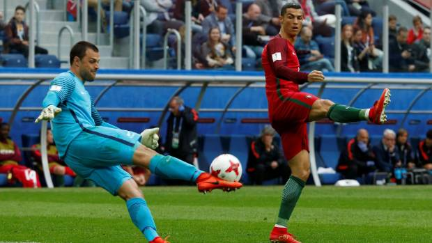 New Zealand vs. Portugal in 2017 Confederations Cup