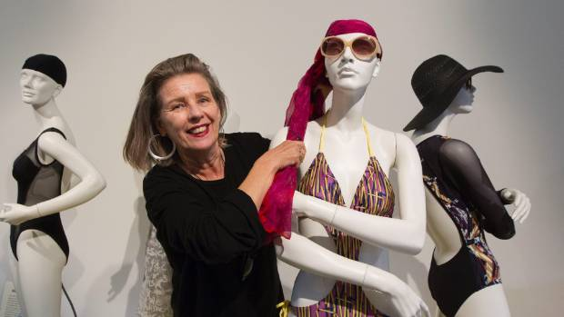 Doris de Pont curated the Dowse's 2016 exhibition At the Beach: 100 Years of Summer Fashion in New Zealand (file pic).