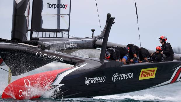 Ashby, Kiwis one win away from America's Cup glory