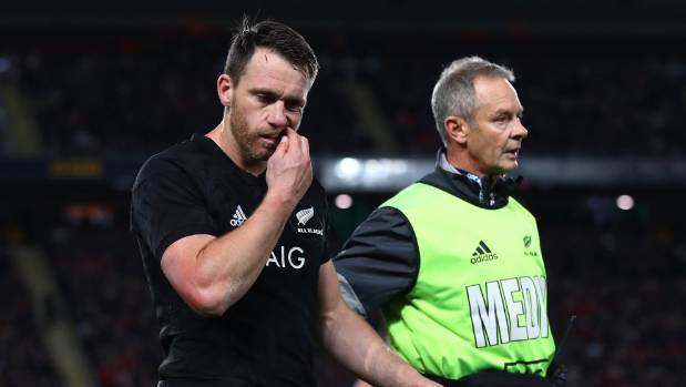 Ben Smith's concussion concerns mean the All Blacks will be forced to make changes for the second test against the Lions ...