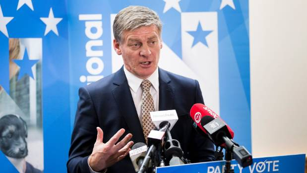 Prime Minister Bill English has consistently opposed relaxing drug laws.