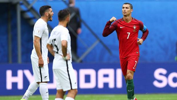 Confederations Cup: Plucky All Whites thumped by Portugal, Mexico knocks out Russian Federation