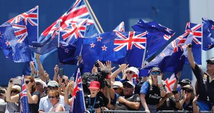 Share your words of encouragement and show us how you'll be cheering on Team NZ.