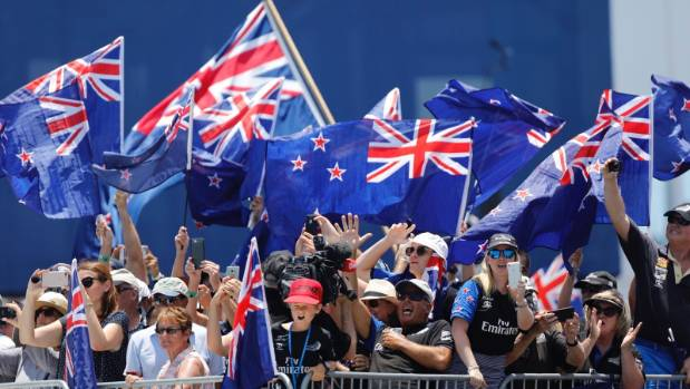 America's Cup: Where have all the New Zealand flags gone?
