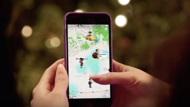 how to get the snapchat map off