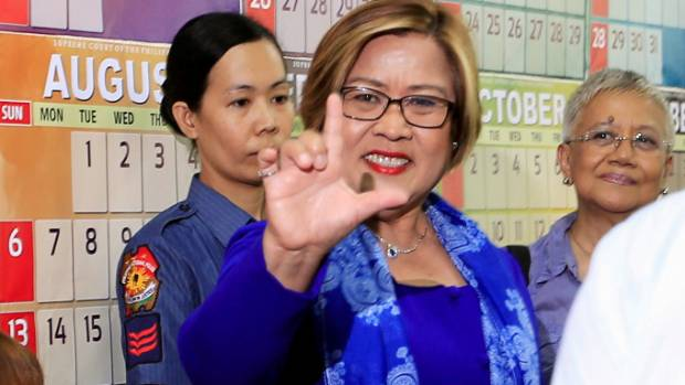 Another arrest order out against De Lima