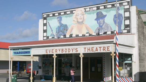 Opunake's Everybody's Theatre is one of many small independent theatres around New Zealand to feature in the new documentary.