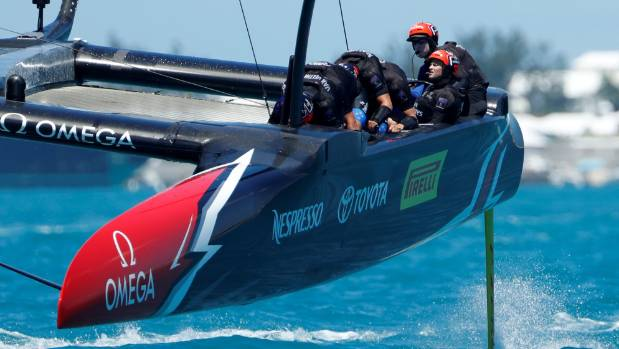 Team NZ's decision to delay their arrival in Bermuda is proving to be a masterstroke.