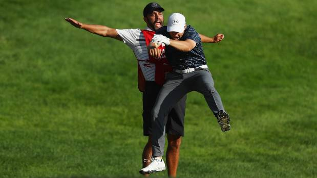 Travelers Championship: Jordan Spieth wins after play-off