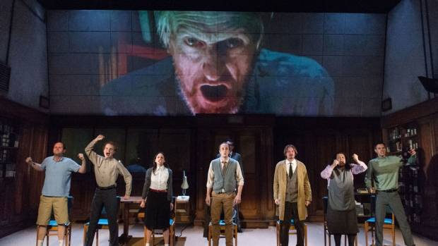 Stage adaptation of Orwell's 1984 leaves audiences fainting and vomiting